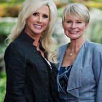 Karen Shayne and Judy Pearson