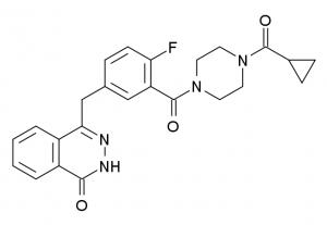 Structure of olaparib