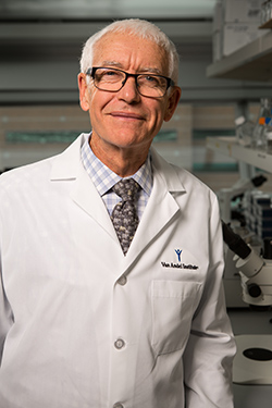 Peter A. Jones, PhD, DSc. Photo courtesy of VARI.