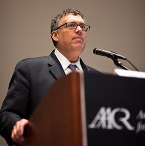 Roy S. Herbst, MD, PhD, lead author of the Clinical Cancer Research article on Lung-MAP, speaks at the AACR Annual Meeting 2012 in Chicago.