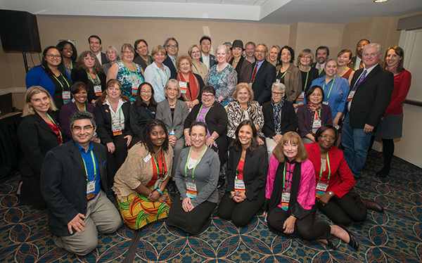 Participants in the 2015 AACR Annual Meeting Scientist↔Survivor Program.