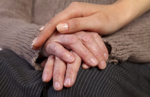 caregiving hands