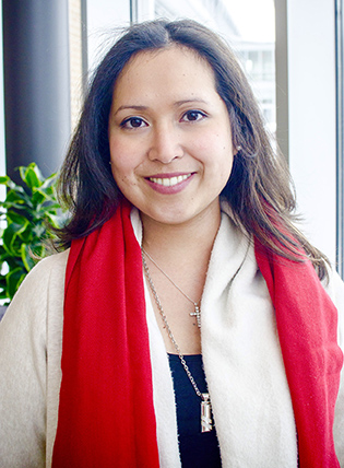 Diana Merino, a childhood cancer survivor and chairperson-elect of the AACR's Associate Member Council, is pursuing her doctorate in medical biophysics at the University of Toronto.