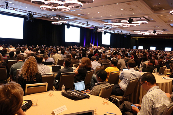 The audience at this week's CRI-CIMT-EATI-AACR International Cancer Immunotherapy Conference.