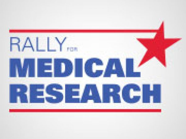 Patient, Parent, and Researcher Rallies for Medical Research