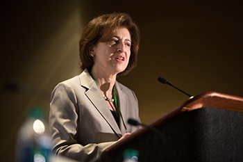 Suzanne Topalian, MD, predicts another great year for immunotherapy advances. Photo by © AACR/Scott Morgan 2015.