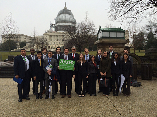 AACR held its first Early-career Hill Day on Feb. 24, 2016.