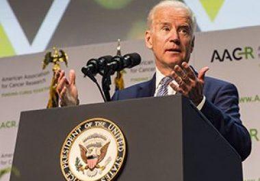 Vice President Joe Biden Speaks at the AACR Annual Meeting 2016