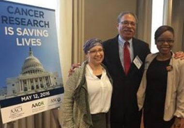 AACR Scientist↔Survivor Program Advocates Make Need for Cancer Research Funding Personal on Capitol Hill