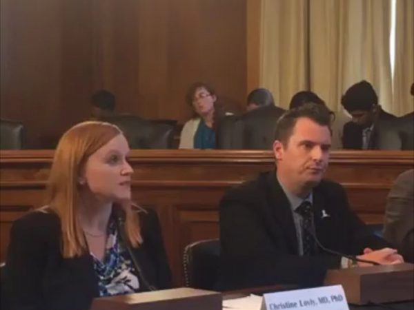 Young Investigator Visits Congress to Advocate for Cancer Research Funding
