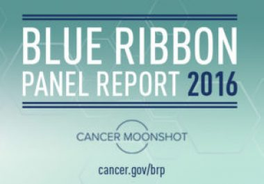 Expert Panel Releases Recommendations to Support Cancer Moonshot Initiative