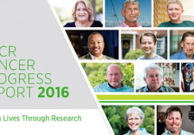 AACR Cancer Progress Report 2016: Saving Lives Through Research