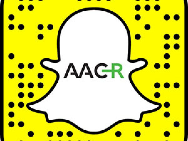 AACR Using Snapchat at Annual Meeting 2017 to Increase Social Engagement