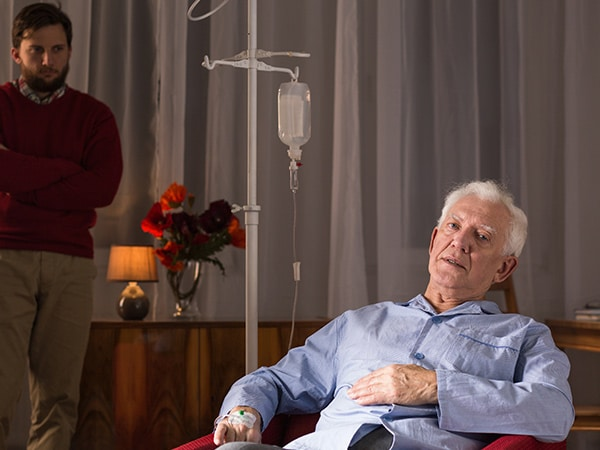 treating dementia patients for colorectal cancer
