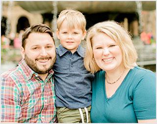 Emily Garnett and family
