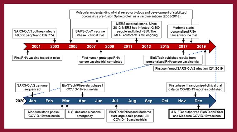 INS CCR Vaccine timeline