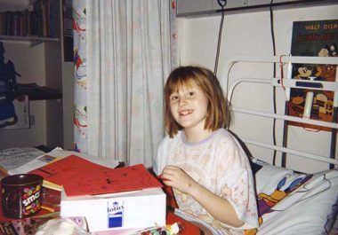 Memories of Childhood Cancer Care Fuel a Researcher's Work